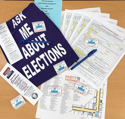 City of Racine Election Vote today